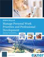 manage personal work priorities and professional Manage personal work priorities and professional development bsbwor501 be a role model for planning, organising and effective time management whilst maintaining the.