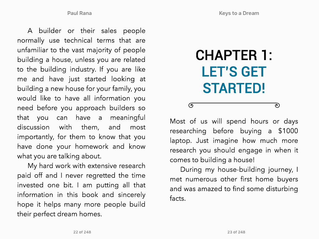 keys to a dream a comprehensive guide to building your first home ebook screenshots
